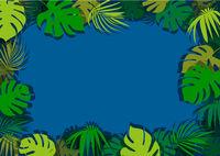 Grüne tropische Blätter Hintergrund