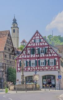 Kornhaus und Platzbrunnen, Horb am Neckar