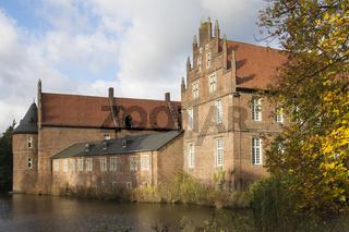 Herbststimmung am Wasserschloss Herten, NRW, Deutschland