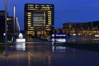 Firmensitz der ThyssenKrupp AG in Essen