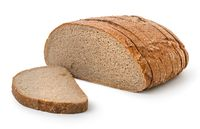 Round brown bread