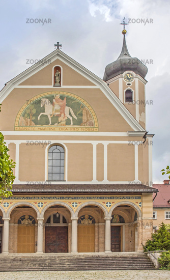 Klosterkirche Erzabtei  St. Martin,  Beuron