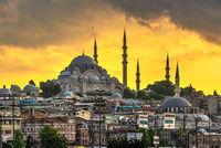 Sulaymaniye Mosque in Istanbul, Turkey