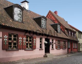 Die Altstadt von Klaipeda
