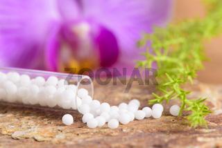 Naturheilkunde mit homöopathischen Globuli
