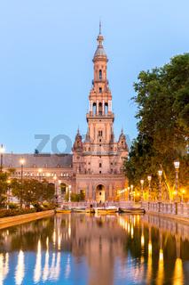 espana Plaza in Seville