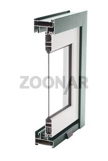 Aluminium window sample