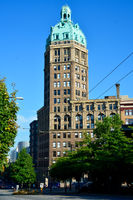 Hochhaus in Vancouver Downtown