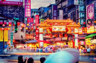 Night market in Taipei- Taiwan
