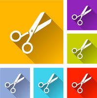 scissor icons