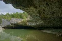 waterfall called Pazinski krov