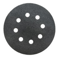 perforated abrasive wheel, isolated