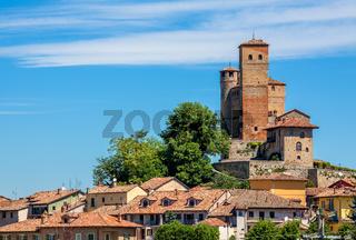 Town of Serralunga D'Alba in Italy.