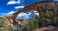Owachomo bridge in Natural Bridges National Monument Utah USA