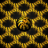 3D Fraktal-Kugel