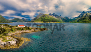 Church on Lofoten islands