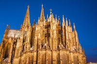 Kölner Kom, Fassade, Köln, Nordrhein-Westfalen, Deutschland, Europa