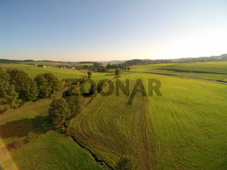 Luftaufnahme von Landschaft