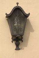 Hoflampe am Bauernhaus