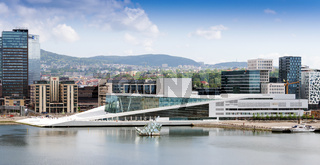 he Oslo Opera House is the home of The Norwegian National Opera and Ballet