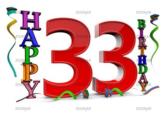 Foto Alles Gute Zum 33 Geburtstag Bild 7252517