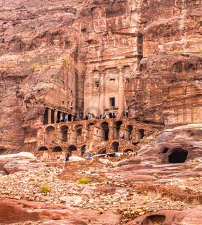 Facade of a ancientl building