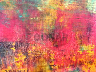 abstract colorful hand painted canvas texture background