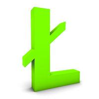 Litecoin grün