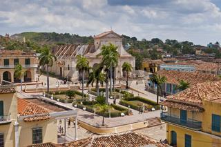 Trinidad Kuba - Hauptplatz mit Kirche