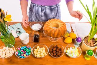 cake glaze preparation