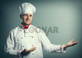 Male chef portrait