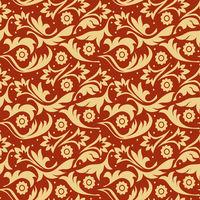Gold f seamless pattern