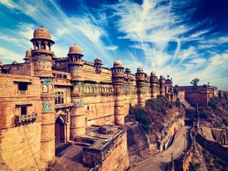 Gwalior fort, India