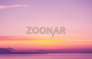 Greece sunset