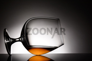 Brandy Snifter on its Side
