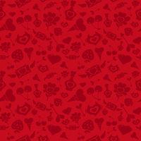 Sweet Red Valentine Pattern