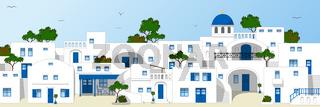 Traditionelle Häuser in Griechenland