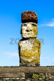 Moai, the monolithic statue