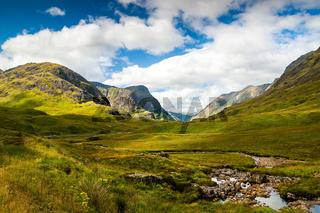 Glen Coe , Schottland