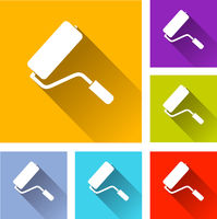 paint roller icons