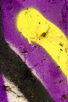 Ausschnitt aus einem Graffiti bzw. Graffito (Spruehbild) als Hintergrundbild, Wallpaper, Textur