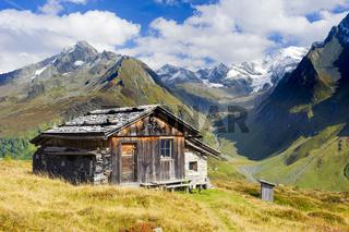 Almhütte in Südtirol im Ahrntal