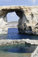 Azur Windwow und Blue Hole, Gozo, Malta