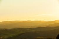 Sonnenaufgang Toskana