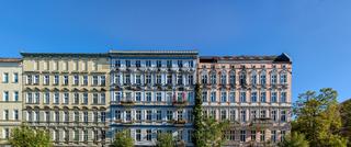 Denkmalgeschütztes Gründerzeitensemble in Berlin - Prenzlauer Berg