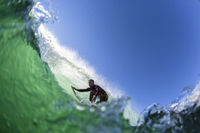 Surfing Durban Water