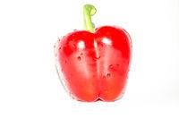 Frische rote Paprika