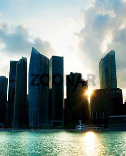 Singapore backlight