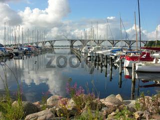 Yachthafen Kalvehave in Dänemark