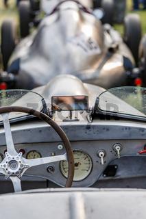Cockpit Rennwagen